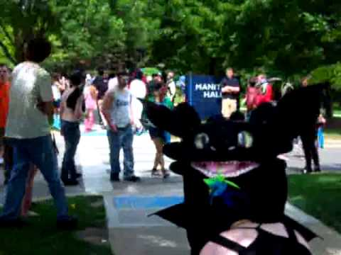 Toothless at Jafax 2012