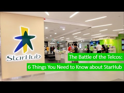 The Battle of the Telcos - Starhub