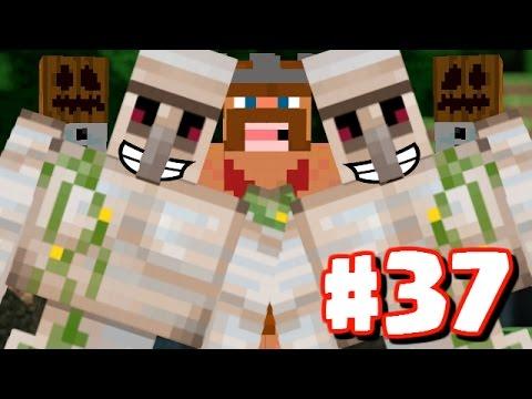 Minecraft : Iron Golem Attack