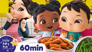 Yes Yes Vegetables Song +More Nursery Rhymes for Kids   Little Baby Bum