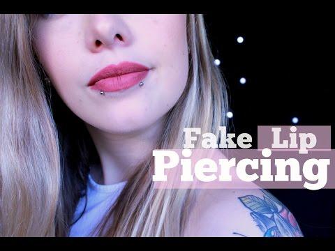 DIY Fake Lip Piercing/Snake Bites
