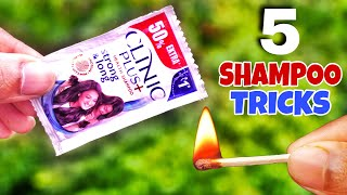 5 Crazy Shampoo Experiments    Science Experiments With Shampoo