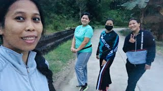 Morning Walk with Friends//Life With Carmel