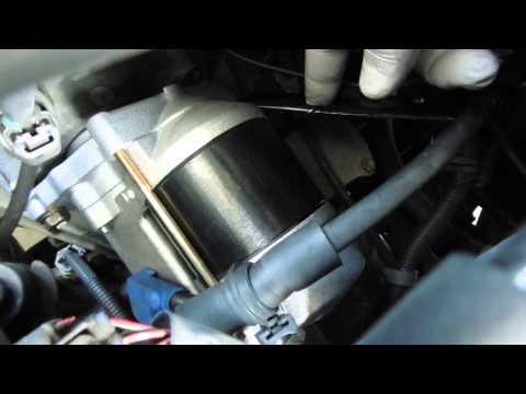 Starter Replacement 2000 Toyota Sienna