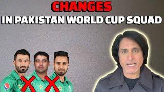 Changes in Pakistan World Cup Squad   Ramiz Speaks