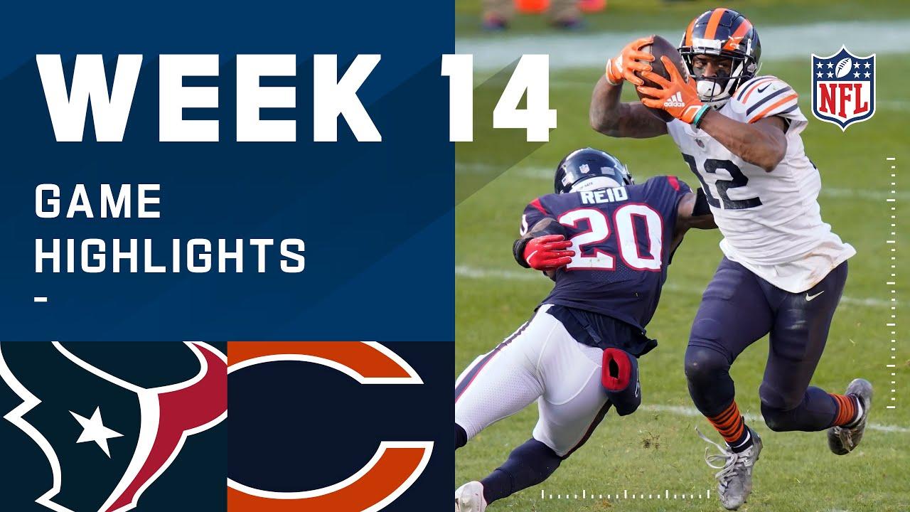 Texans vs. Bears Week 14 Highlights | NFL 2020