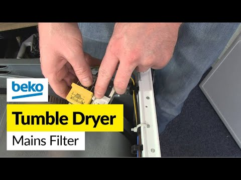 How to Replace the Mains Filter on a Beko Tumble Dryer