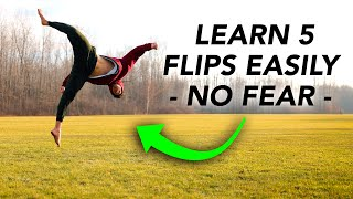 Learn 5 Easy Flips ASAP - How to Do Without Just Sending!