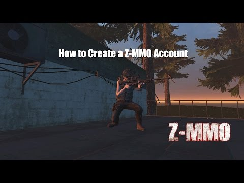 How to Create a Z-MMO Account