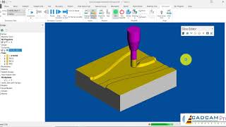 Aerospace Part Manufacture with Autodesk PowerMill and Seco