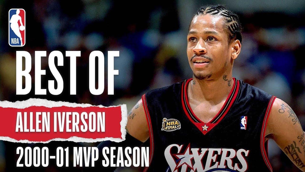 Iverson's 2000-01 MVP Season Highlights