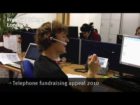 Telephone fundraising appeal 2010