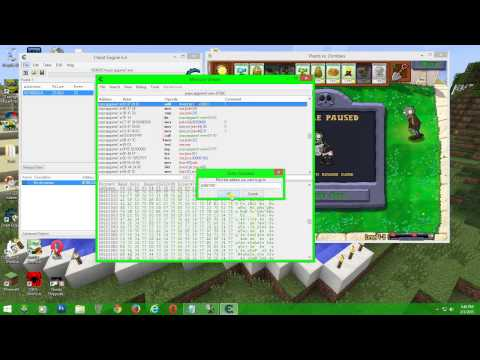 How to Hack Plants vs Zombies with Cheat Engine 6.4
