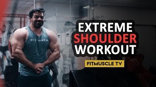 Complete Shoulder Workout Plan in 60 seconds | FitMuscleTV