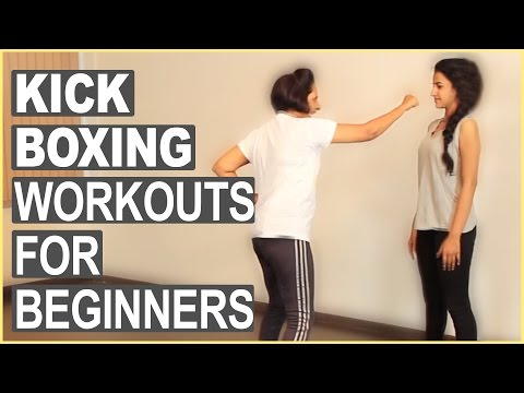 Kickboxing Workout For Beginners | How To