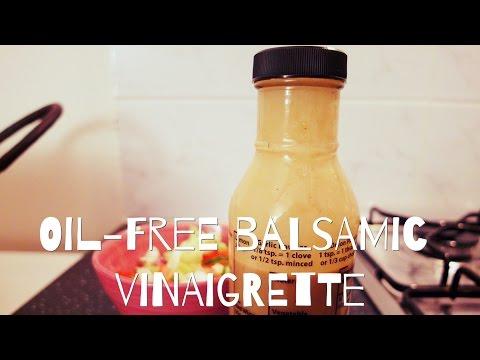 Oil-Free Balsamic Vinaigrette