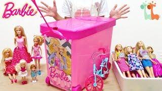 バービー人形 収納ケース バービーコレクション / Barbie Doll Storage Case And My Doll Collection