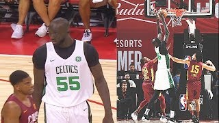 Tacko Fall Makes NBA Players Look Like Kids In 2019 NBA Summer League! Celtics vs Cavaliers