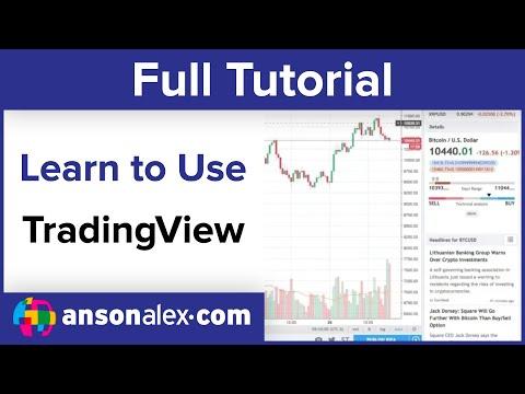 TradingView Charts Tutorial 2018