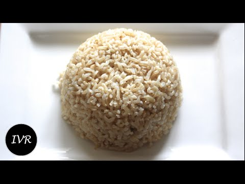Basmati Brown Rice Recipe | Brown Rice | Rice Recipe  - Brown Rice in Pressure Cooker