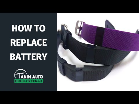 Tanin Auto Electronix Fitbit Charge HR Battery Replacement Waterproofing Fit Bit