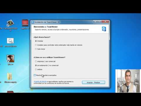 Como Descargar e Instalar TeamViewer 10 en tu PC