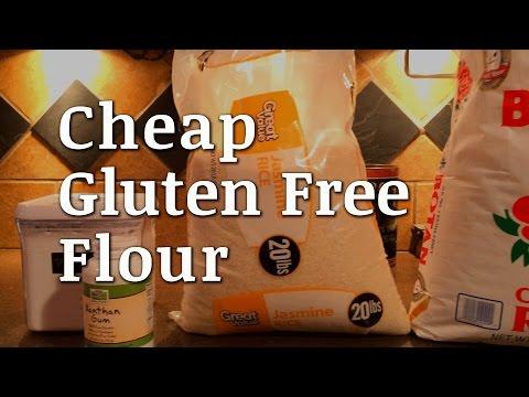 DIY Cheap Gluten Free Flour Mix