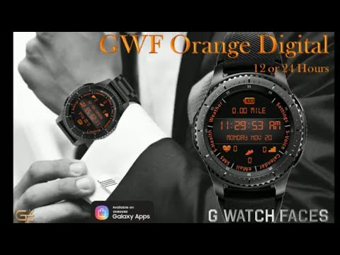 Gear S3 Free Watch Face Tuesday