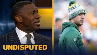 Shannon Sharpe on reports Packers QB Aaron Rodgers will start Week 15 vs Carolina | UNDISPUTED