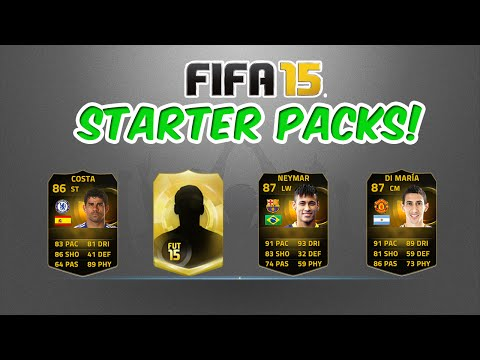 FIFA 15 Ultimate Team Starter Packs Hunting IF Neymar IF Di Maria & Insane Loan Players FUT 15