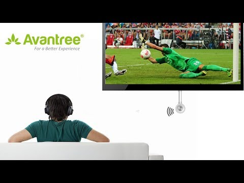 Video User Guide   Connect Avantree Audition Pro with non Bluetooth enabled TV By using a Bluetooth