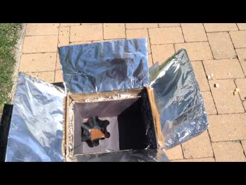Simple Solar Oven for School