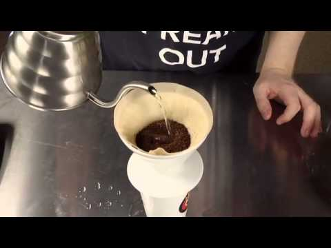 How To Make Pour-Over Coffee with a Hario Dripper