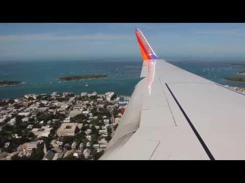 Southwest Airlines Boeing 737-700 Key West Landing (TPA-EYW) (11/2013)