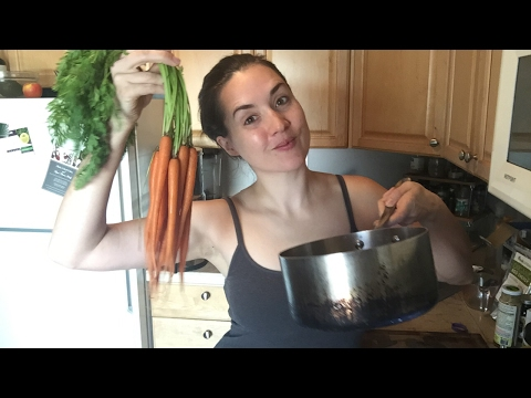 Live Cooking Show: Cashew Carrot Ginger Soup