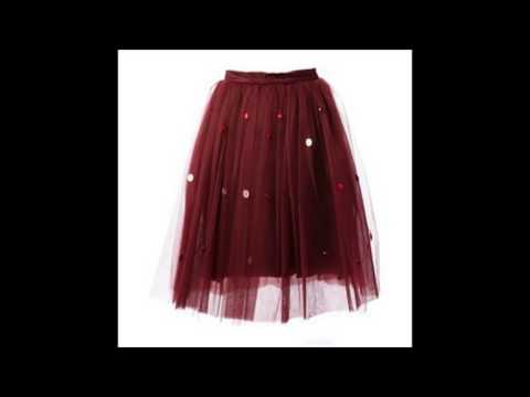 9 Ultra chic Ballerina Skirts for Girls   Pretty Designs