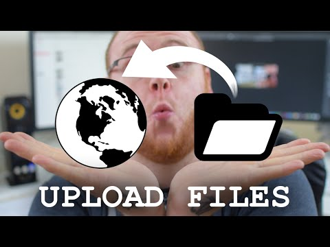 Uploading Files using FTP on a Mac