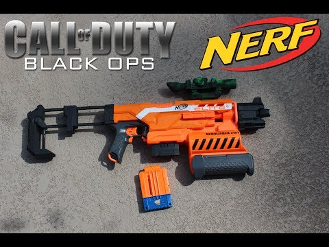 Custom Nerf Scope and Attachments