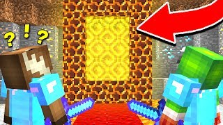 WHERE DOES THIS NEW MINECRAFT PORTAL GO TO?!