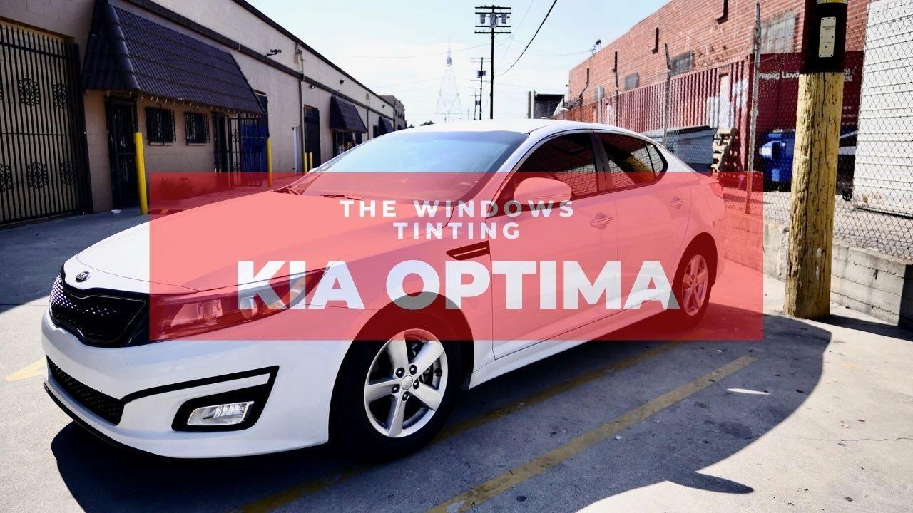 Tint My Ride: Kia Optima