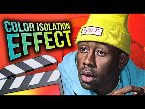 How To Make A Color Isolation Effect - Final Cut Pro X