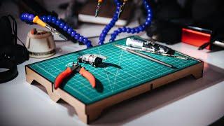 Making a Cutting Mat Riser and Lighting Platform!