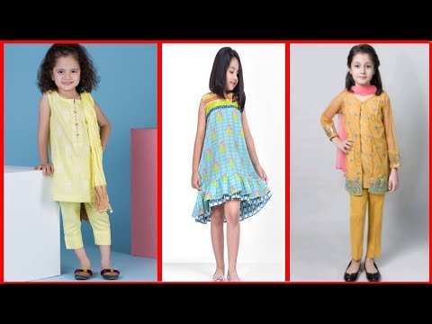 GIRLS EID COLLECTION// SUMMER GIRLS SUIT//BOTIQUE SUIT DESIGN