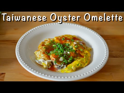Taiwanese Oyster Omelette - How to Make a Famous Taiwanese Night Market Snack!