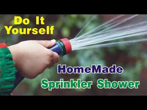 How to Make Cheap Garden Sprinkler Shower with Plastic Bottle Cap Asia helping zone