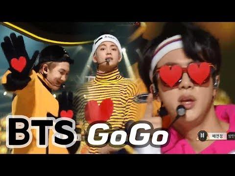 BTS - GOGO, 방탄소년단 - 고민보다 GO (Heart Perfomance for ARMY♥_♥) @2017 MBC Music Festival