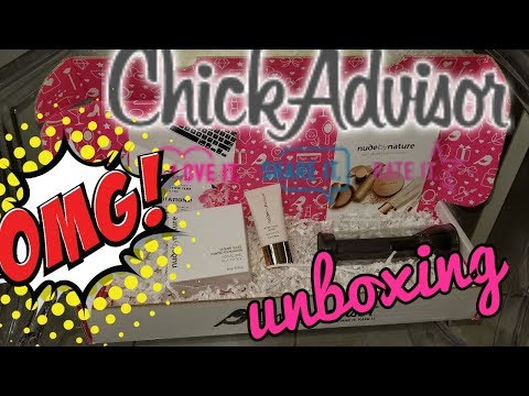 OMG | My BEST CHICKADVISOR UNBOXING EVER!!! | NUDE BY NATURE