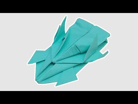 Origami race car Easy Steps