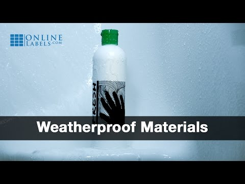 Weatherproof Label Materials - See Features and Uses