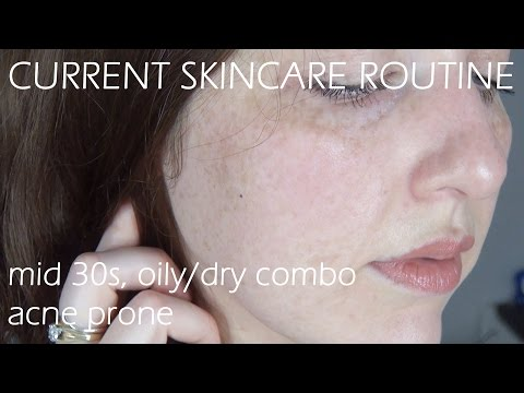 Current Skincare Routine - Mid 30s Oily/Dry Combo Acne Prone